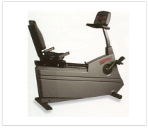 Life Fitness Lifecycle 9500HR Recumbent Bike