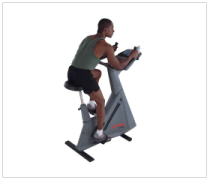 Life Fitness Lifecycle 9500HR Upright
